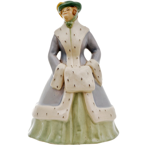 Royal Doulton Lady Ermine Figurine HN54 designed by Charles j. Noke in 1916