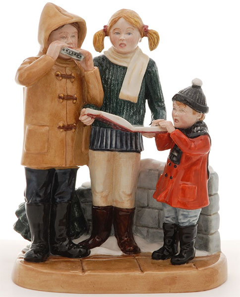 Royal Doulton Carol Singers from an Edition of Three, Figurine, Tableau